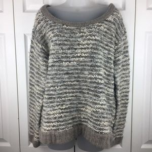 Free People Womens Chunky Pullover Sweater Size M